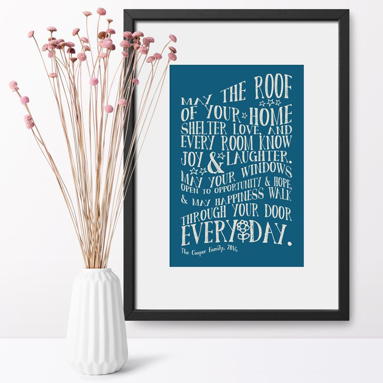 The Typography Collection | Lettering, Word Art and Typographic Personalised Prints and Wall Art, qwerty gifts from PhotoFairytales