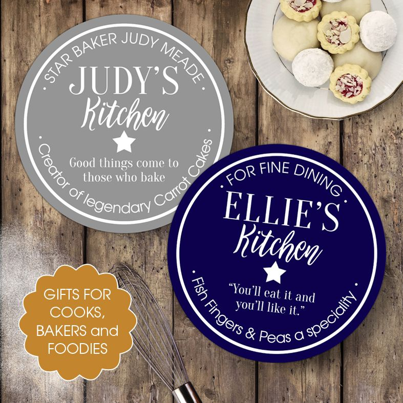 Personalised gifts for cooks, bakers and food lovers | personalised baking gift ideas from PhotoFairytales