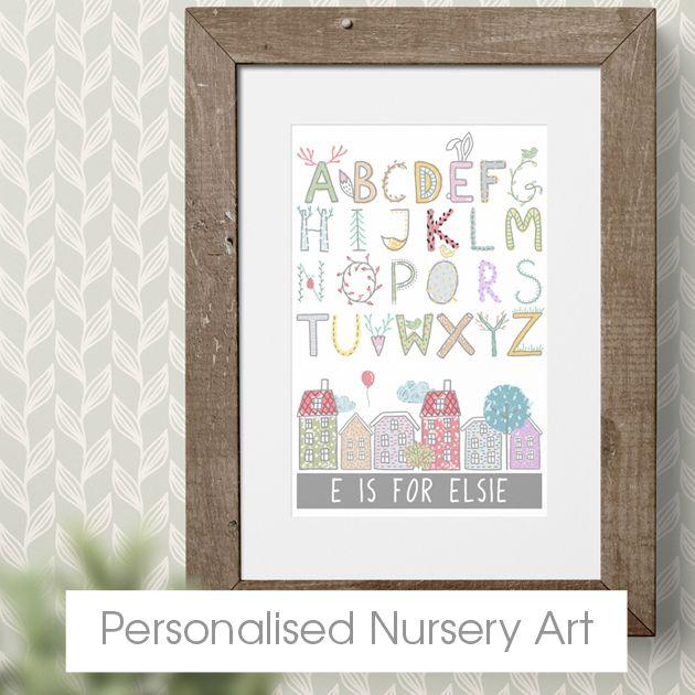 Personalised Nursery Art | Bespoke Customised Nursery Decor from PhotoFairytales