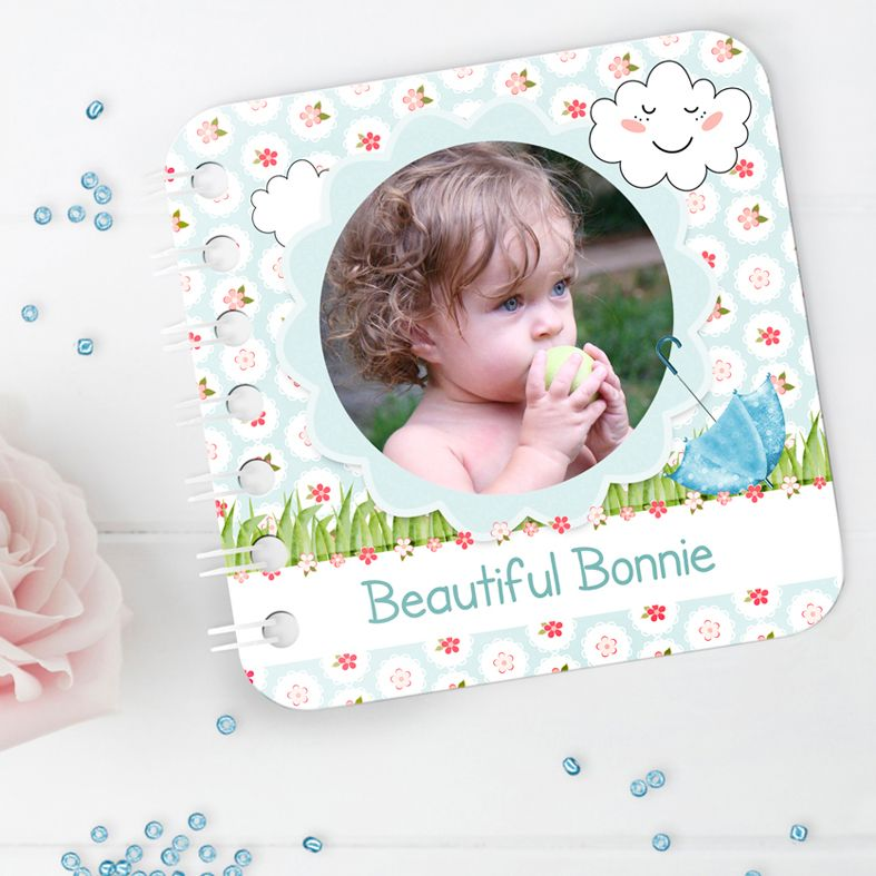 Handmade and Personalised Baby Board Books featuring your own photos and words | from PhotoFairytales