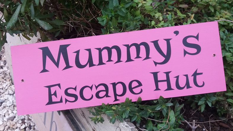 Wooden Outdoor Plaques and Signs   Handmade and personalised to order, range of colours, a lovely gift for your garden or home.