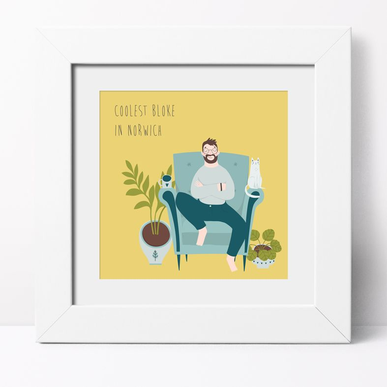 Personalised Gifts for Him | unique gift ideas for dad, husband, brother, boyfriend - from PhotoFairytales
