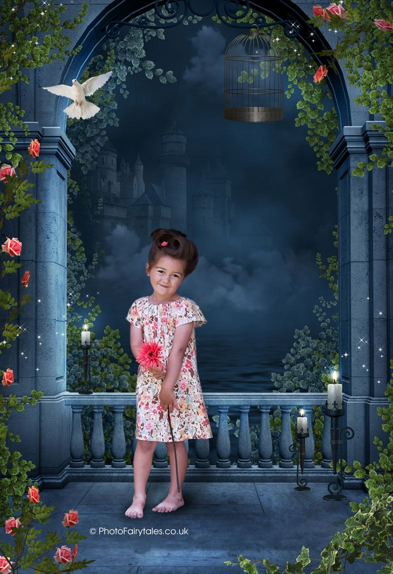 Fairy tale fantasy images created from your own photo into unique personalised portraits & wall art | PhotoFairytales