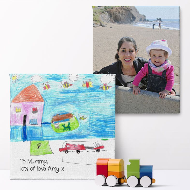 Personalised Canvas Print My Photo On Canvas | Print your favourite picture or photo on custom canvas, high quality, free P&P