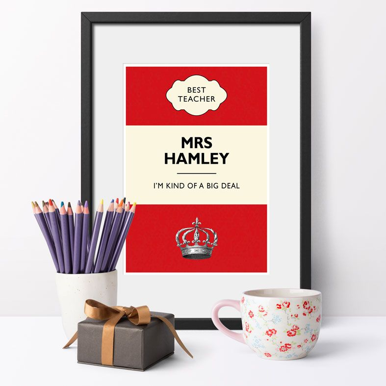 I'm Kind of a Big Deal Personalised Print | Unique and original wall art, fun bespoke gift, PhotoFairytales