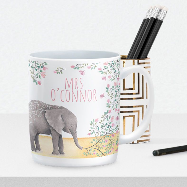 Personalised mug gift    beautifully illustrated and customised mugs, created to order, from PhotoFairytales #personalisedmug