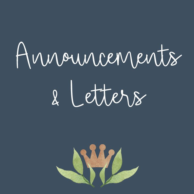 Personalised Letters and Announcements Gifts   PhotoFairytales