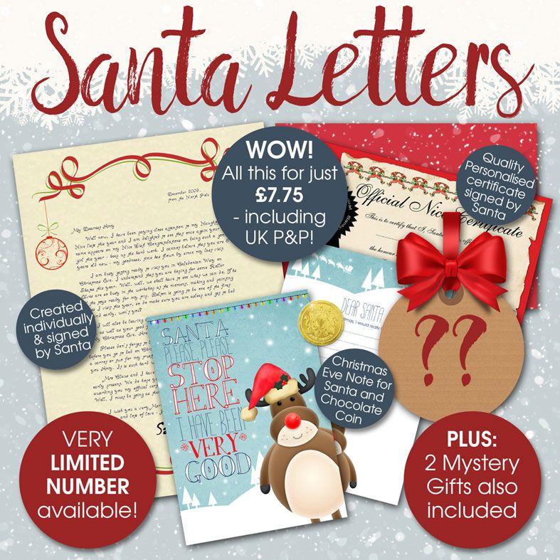 Personalised Santa Letters & Telegrams,  from PhotoFairytales