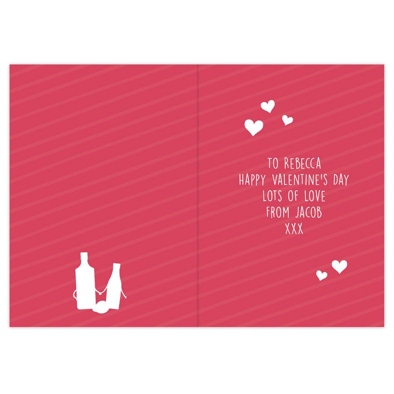 Gin To My Tonic personalised greeting card