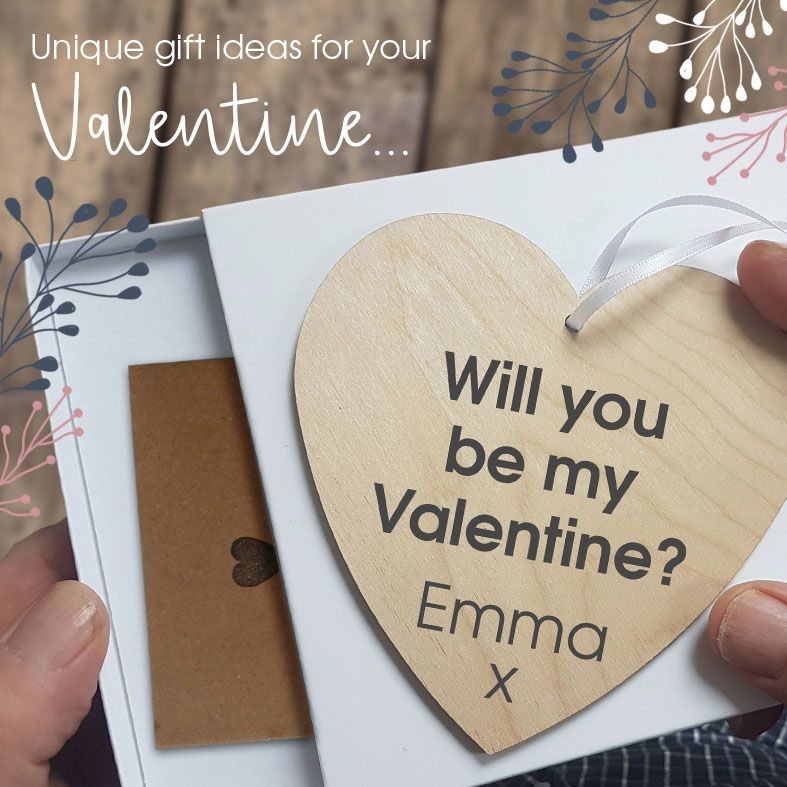 Personalised Valentine Gifts | Unique gift ideas for him or her on Valentine's Day, from PhotoFairytales #valentinegifts