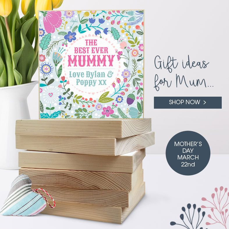 Personalised Mother's Day Gifts | handmade gift ideas for mum, from PhotoFairytales #mothersdaygift