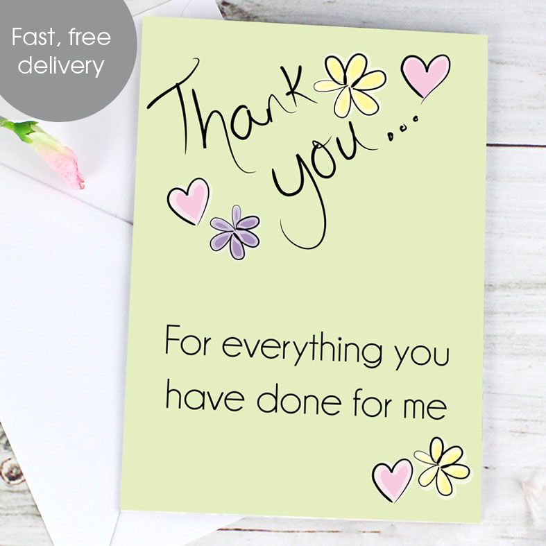 Personalised Thank You Card | PhotoFairytales