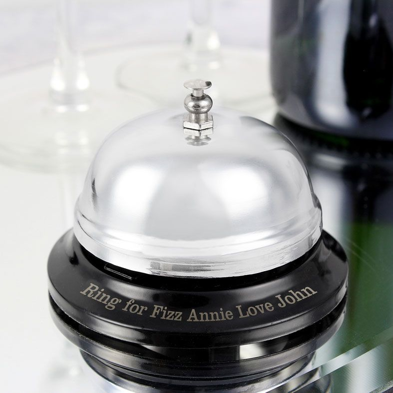 Personalised Service Bell | fun gift idea personalised with any wording, from PhotoFairytales