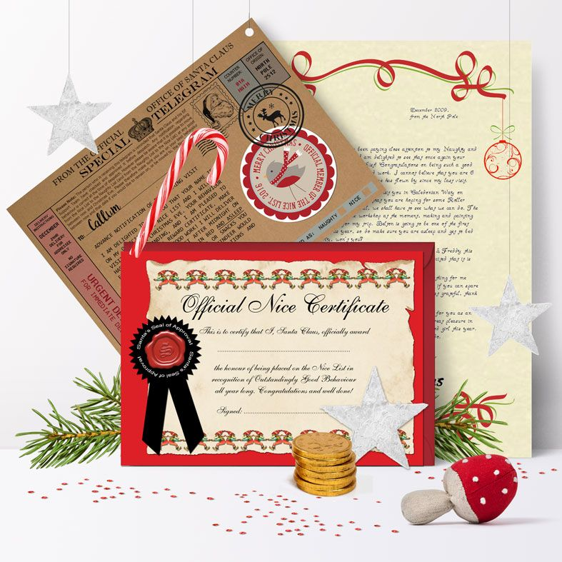 Limited edition Personalised Santa Letters | individually created, including extra gifts, superb quality and fantastic value with brilliant customer feedback - from PhotoFairytales