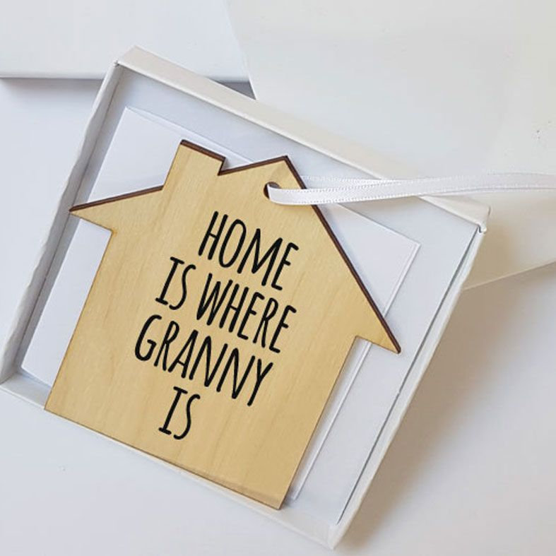 Personalised Mother's Day Gifts, free UK delivery - Mini Wooden Message Plaques | Personalised Gift Wrapped Present, Gift Boxed, Letterbox Friendly Personalised Gift