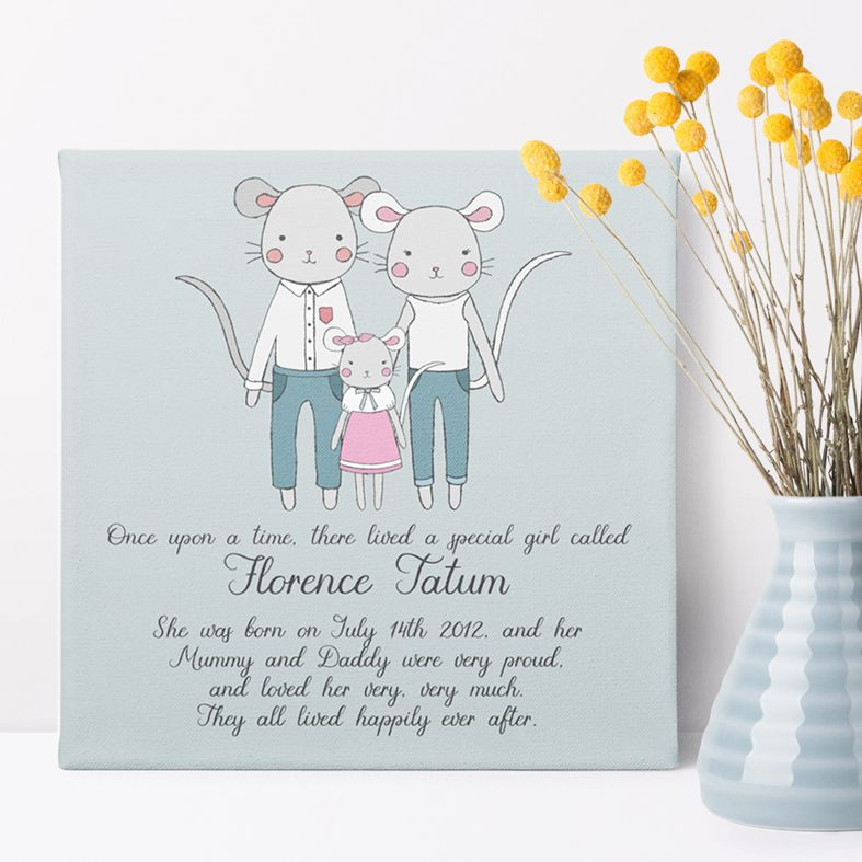 Personalised Nursery Decor and Wall Art | bespoke handmade baby gifts and keepsakes for new parents, from PhotoFairytales