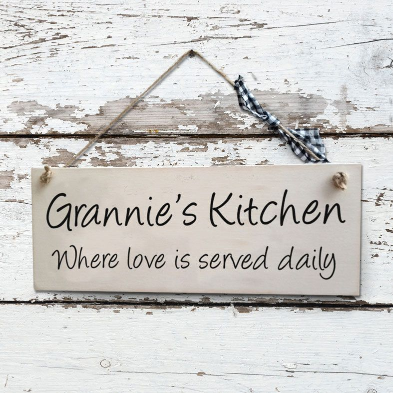 Personalised Mother's Day Gifts, free UK delivery - Personalised Handmade Wooden Plaques and Signs - any wording, from PhotoFairytales