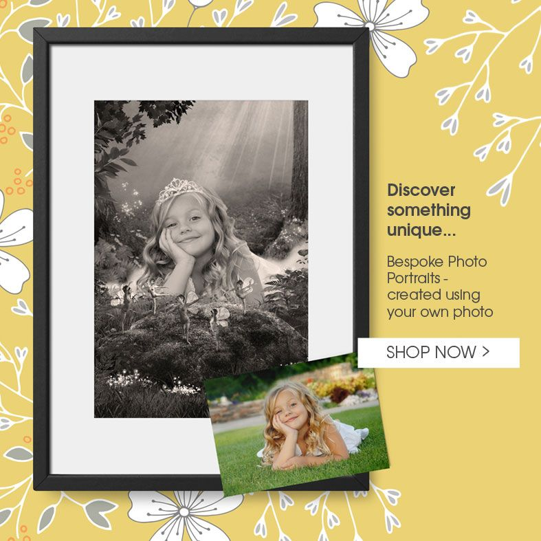 Personalised Fantasy Fairy Portraits | bespoke fairytale art created from your ordinary photo, from PhotoFairytales