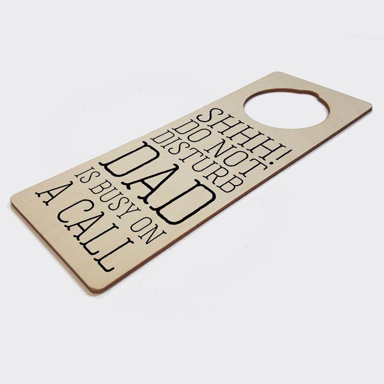 Personalised Door Hanger | Do Not Disturb Meeting Door Sign, Home Office Gift, Work From Home Gift, PhotoFairytales