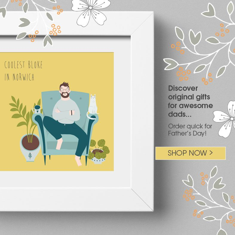 Personalised Fathers Day Gifts   from PhotoFairytales