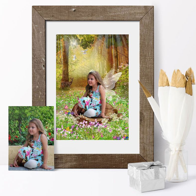Personalised Fantasy Fairy Portraits   bespoke fairytale art created from your ordinary photo, from PhotoFairytales