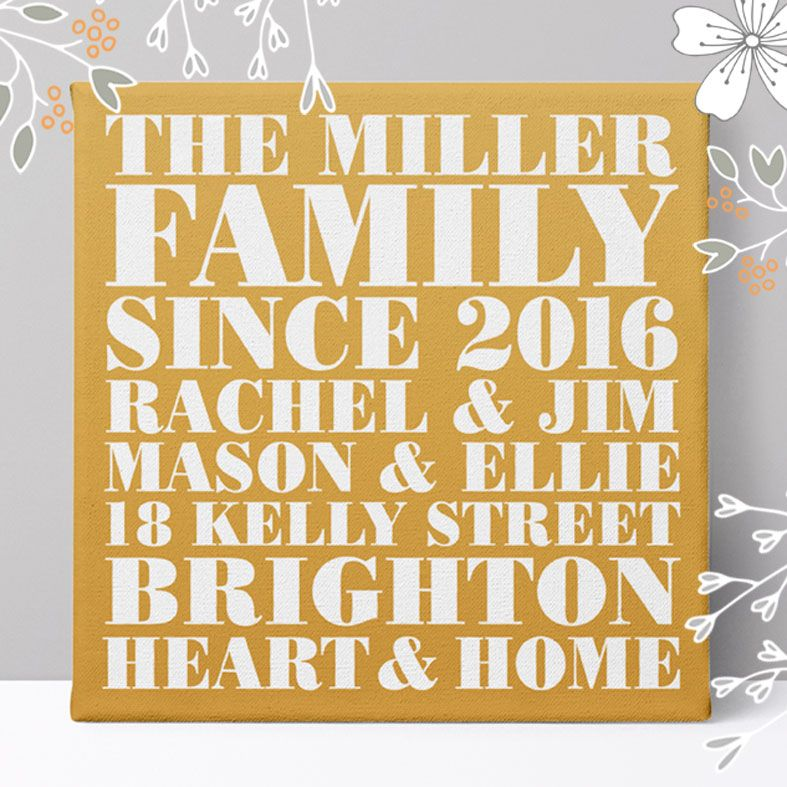 Personalised Family Gifts | from PhotoFairytales