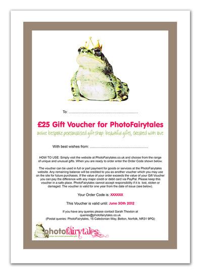 PhotoFairytales Gift Voucher