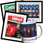 Personalised Sport FC football merchandise gifts