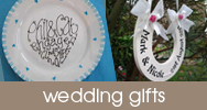 for wedding personalised handmade gifts