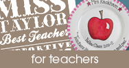 for teacher personalised handmade gifts