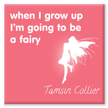 Fairy personalised canvas print