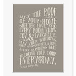 new home personalised print mount dark taupe web