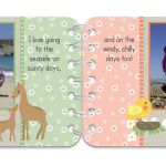 Springtime personalised book pages 3 & 4
