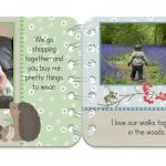 Springtime personalised book pages 7 & 8