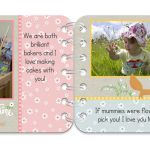 Springtime personalised book pages 9 & 10
