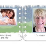 Winter Wonder pages 1 & 2 personalised book