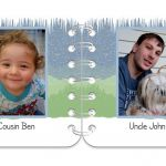 Winter Wonder pages 5 & 6 personalised book