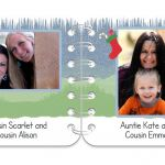 Winter Wonder pages 7 & 8 personalised book