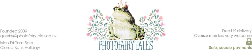 PhotoFairytales.co.uk | unique personalised handmade gifts and prints, site logo.