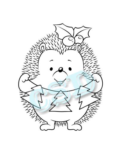Hedgehog - Christmas Tree