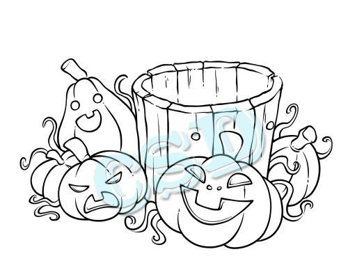 Halloween Stump