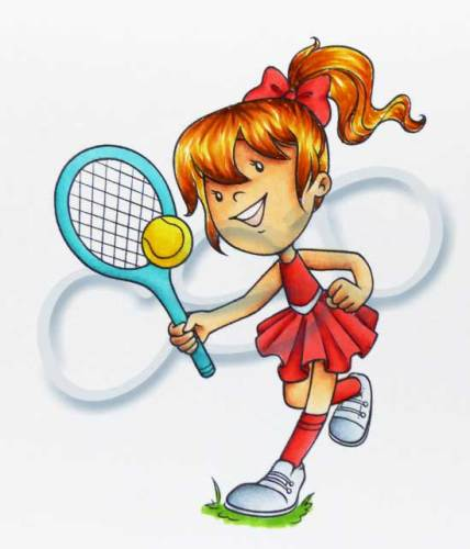 Isobel - Tennis