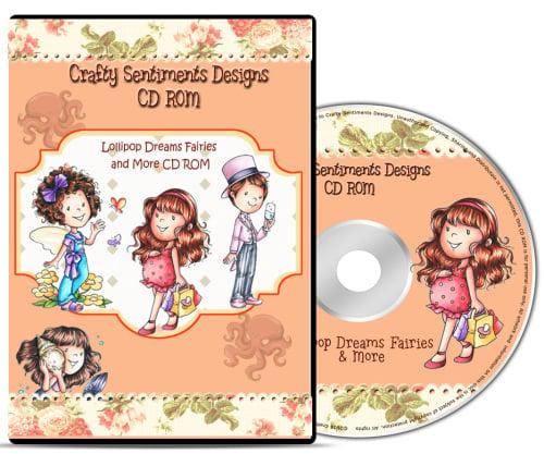Lollipop Dreams Fairies and More CD ROM