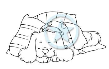 cookie - sleeping time watermark