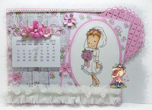 dt crafty sentiments calendrier mariée