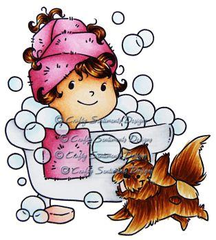 Patsy and Gizmo - Bubble Bath