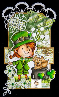Patsy & Gizmo Luck O f the Irish-1