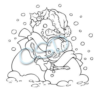 Snowmans Hug