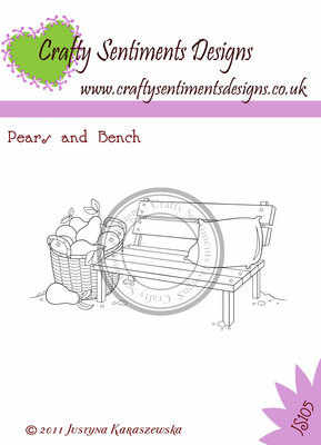 Accessory Stamp - Pear and Bench
