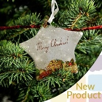 Personalized Ceramic  Christmas Decorations